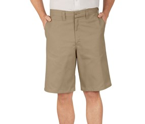 Dickies Men's Industrial Flat Front Shorts, Tan
