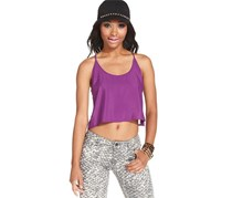 Planet Gold Women's Top, Purple
