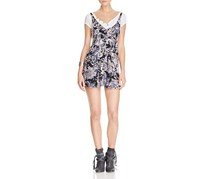 Free People Women's Jump and Jive Jumper Dress, Grey