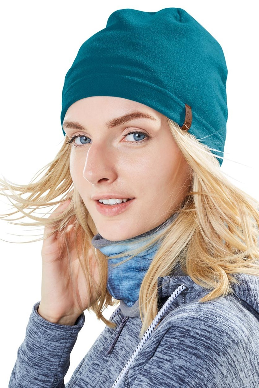 Women's Fleece Cap, Petrol