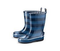 Toddler Boys Rubber Boots, Blue