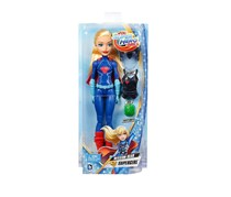 DC Super Hero Girls Supergirl Doll with Mission Gear, Blue