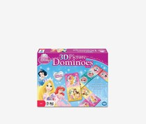 Wonder Forge Disney Princess Lenticular Dominoes, Pink/Blue