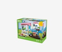 BRIO Ice Cream Shop, Blue/Green/Pink
