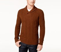 Barbour Men's Galloway Cable Sweater, Bracken