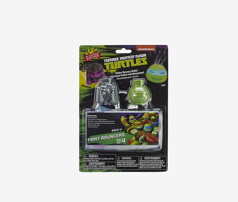 Teenage Mutant Ninja Turtles Bouncers, Green/Grey