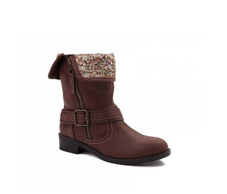 Big Girls Wanda Boot, Brown
