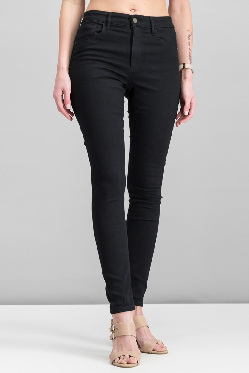 Women's Icon Skinny Jeans, Black