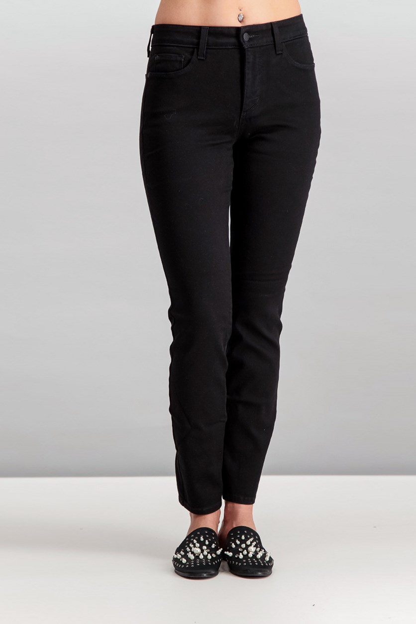 Alina Tummy-Control Jeggings, Black