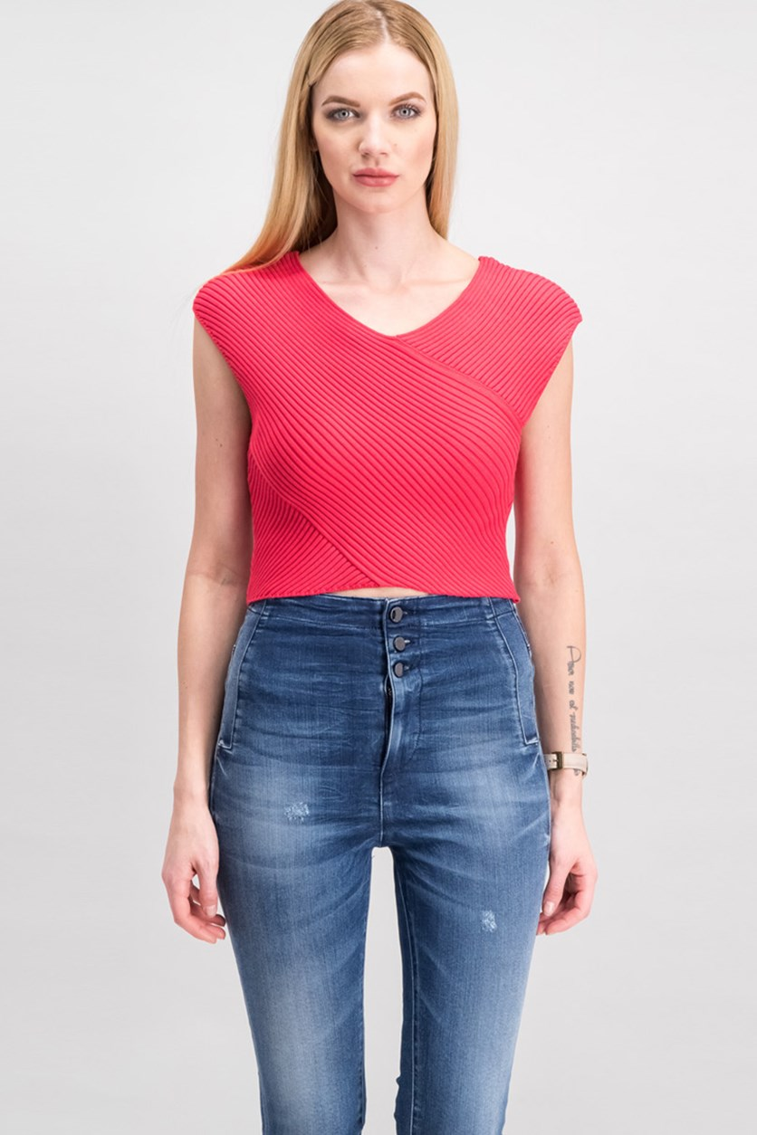 Ribbed Crop Top, Paradise