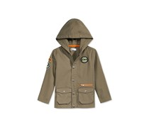 Epic Threads Little Boys Patch Jacket, Dark Sprout