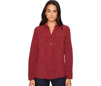 ExOfficio Women's Kizmet Long Sleeve Shirt, Malbec