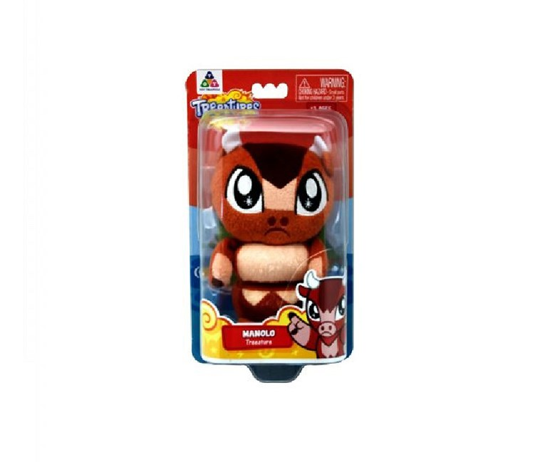 Treeatures Manolo Plush Toys,  Brown