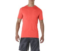 Asics Men's Seamless T-Shirt, Coralicious