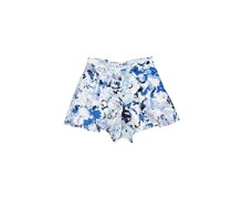 Necessary Objects Women's Printed Short, Navy/Blue/White