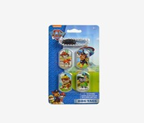 Nickelodeon Nick Jr Paw Patrol Dog Tags-Set of 4, Blue Combo
