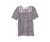 Knox Rose Women's Short Sleeve Top, Gray