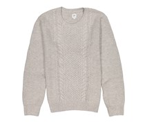 Gap Men's Long Sleeve Stitching Sweaters, Grey