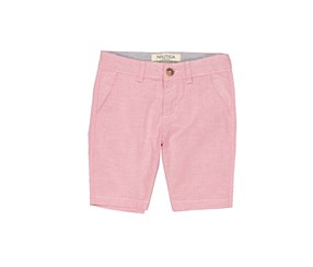 Nautica Boys Wilkes Stretch Flat Front Short, Ruby