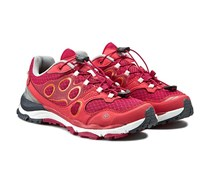 Jack Wolfskin Women's Trail Excite Low Shoes, Azalea Red