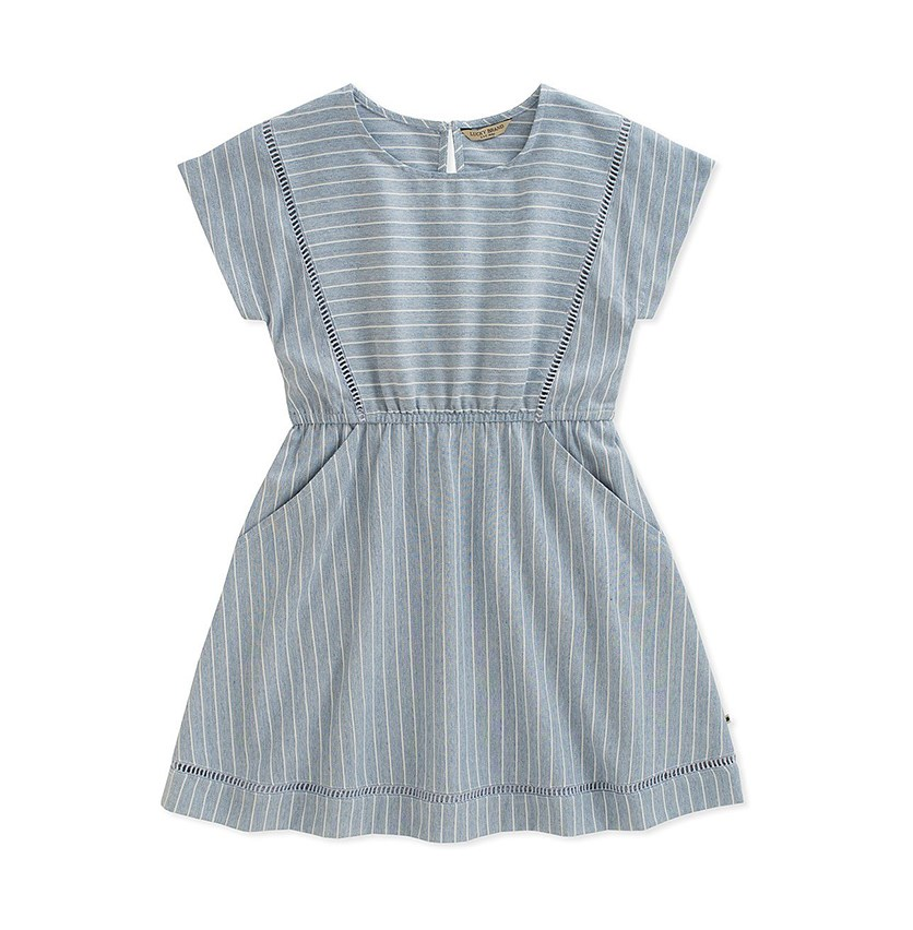 Erika Dress, Marshmallow