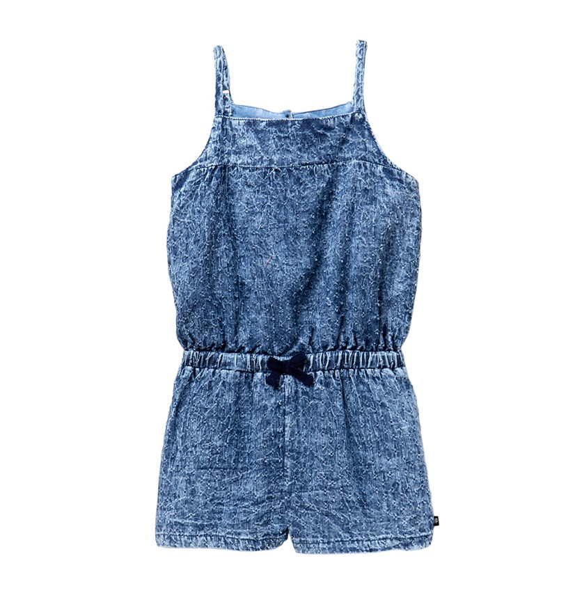 Kids Girl Dyan Romper, Ryder Wash