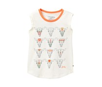 Lucky Brand Kids Girl Zoya Tank, Whisper White
