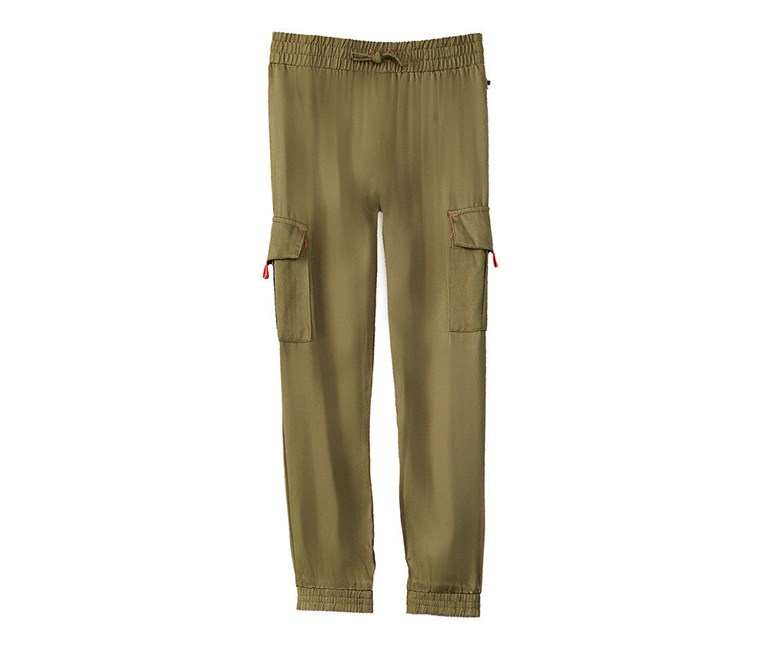 Kids Girl Faye Pants, Winter Moss
