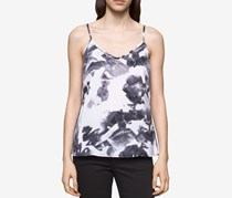 Calvin Klein Jeans Printed Tank Top, Faded Navy