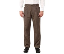 Dockers Men's Comfort Relaxed Pleated Pants, Khaki
