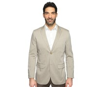 Perry Ellis Men's Twill Suit Jacket, Beige