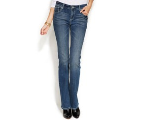 INC International Concepts Women's Jeans, Navy