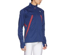Puma Mens Running Jacket, Navy