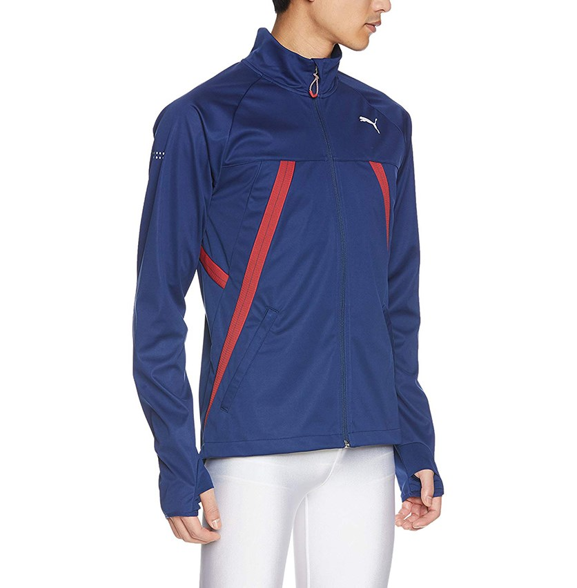 Mens Running Jacket, Navy