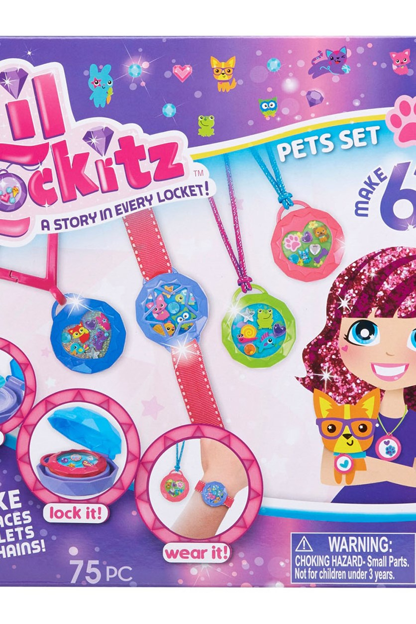 Lil Lockitz Pets Set, Purple