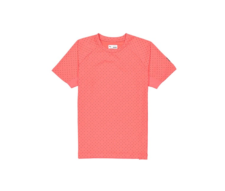 Men's Short Sleeve X Staple Tee, Dark Pink