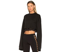 PUMA Women's Fenty Cropped Long Sleeve, Black