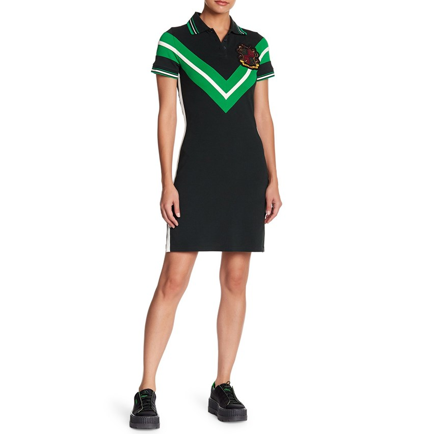 FENTY PUMA by Rihanna Varsity Tennis Dress, Green