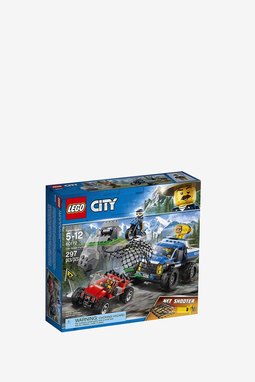 City Dirt Road Pursuit Building Kit 27 6.5 25, Blue Combo