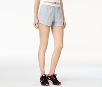 Energie Womens Knit Solid Athletic Shorts, Heather Grey