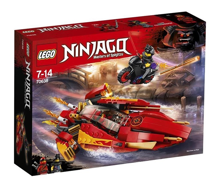 Ninjago Katana V11 Building Kit, Red/Black