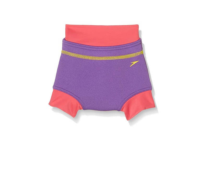 Baby Girl Swim Nappy, Purple/Pink