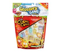The Grossery Gang Rot Hot Chili & Stinky Cheese Corny Chips, Yellow/Blue