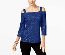 Inc International Concepts Women's Top, Goddess Blue