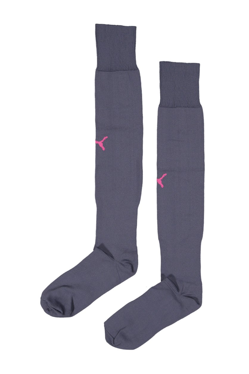 Men's Team II Sock, Graystone/Festival Fuchsia