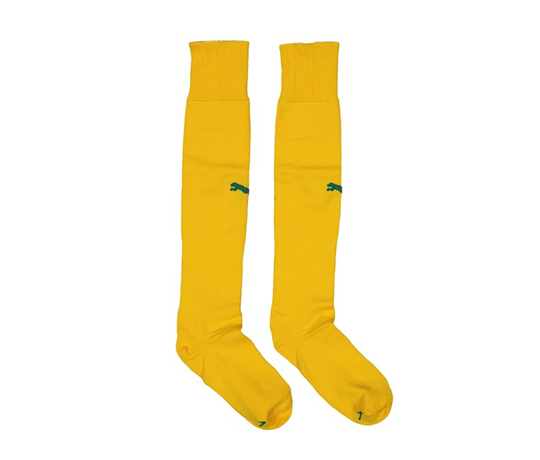 Team II Sock, Yellow/Green