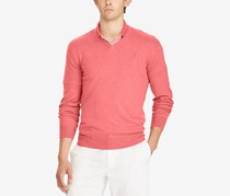 Ralph Lauren Long Sleeve Cotton Polo, Red