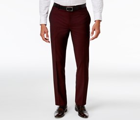 Inc International Concepts Men's Slim-Fit Pants, Burgundy