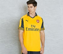 Puma Men's Arsenal 16/17 Away Jersey Shirt, Yellow