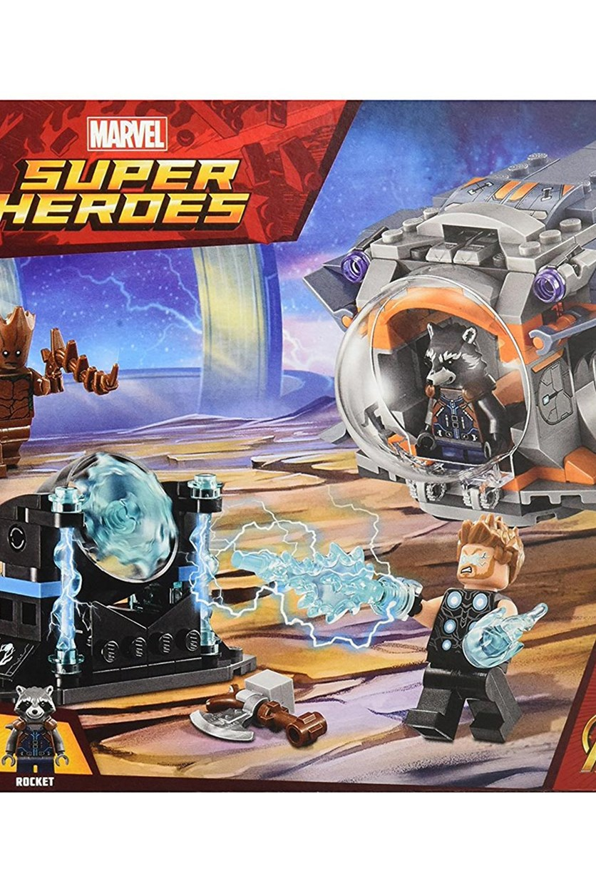 Infinity War Thor's Weapon Quest Building Kit, Gray Combo